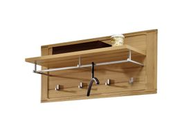 Wandgarderobe NATURE PLUS Kernbuche Massivholz