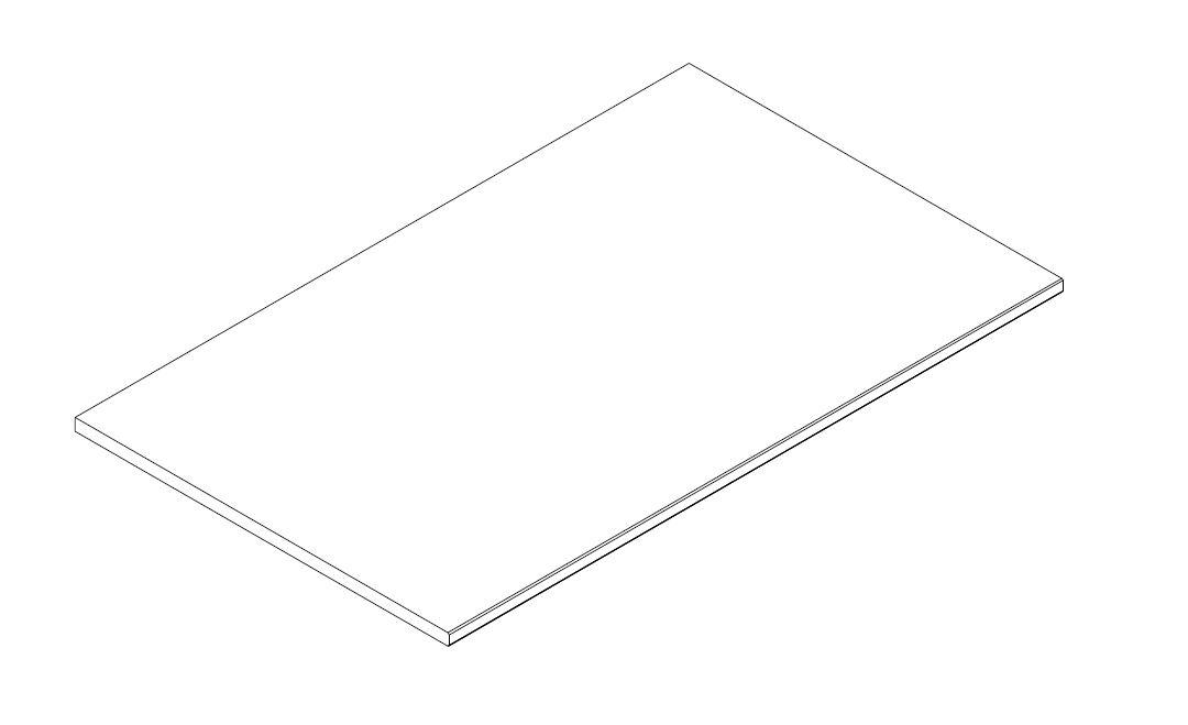 Einlegeboden 97 cm für Schrank HALVAR + YLVA mit 3 und 4 Türen