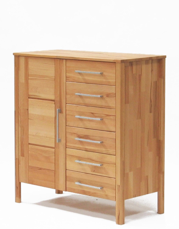 kommode snorre 1 trg 6 schubladen kernbuche wildeiche. Black Bedroom Furniture Sets. Home Design Ideas