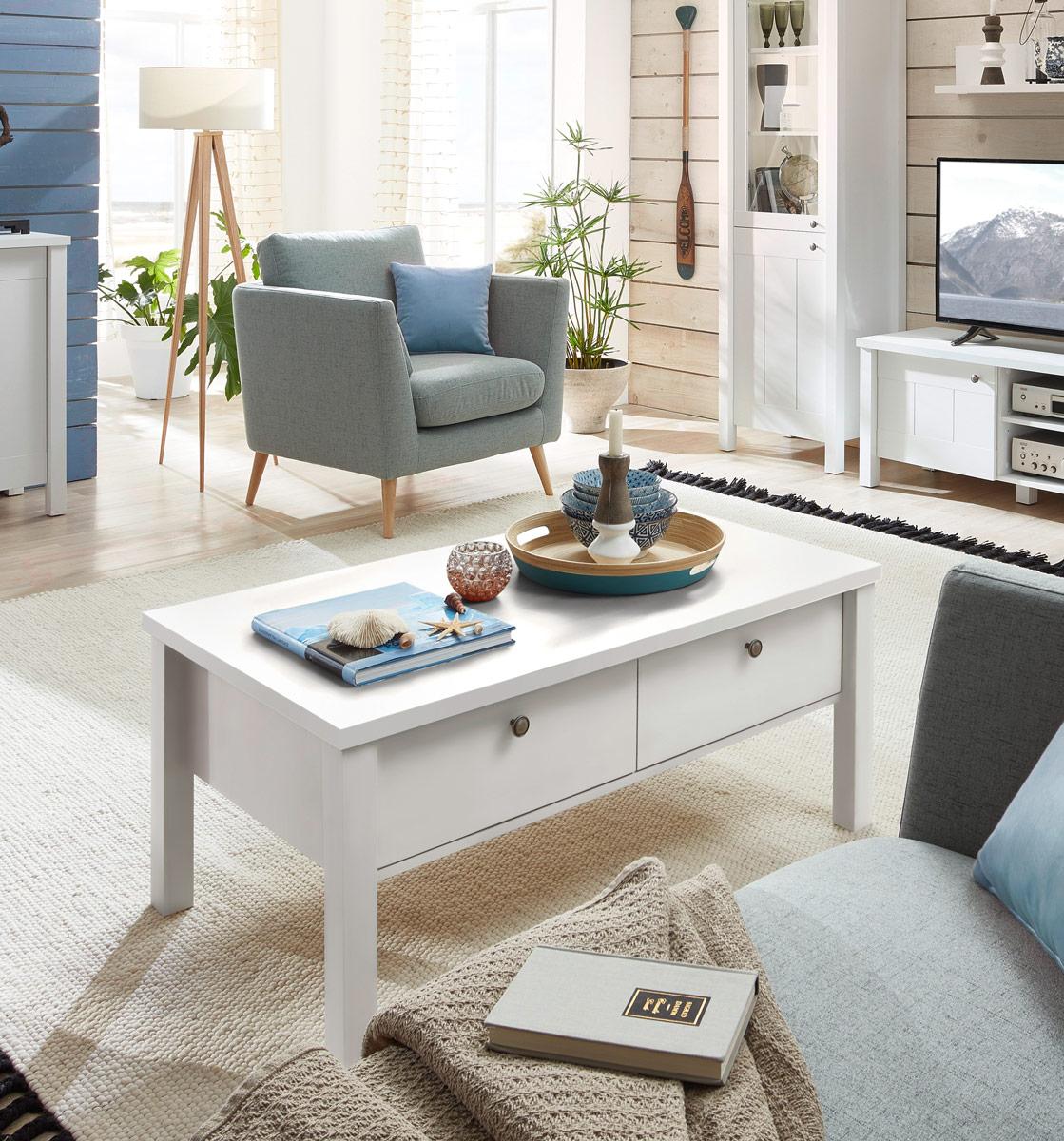 couchtisch siena 109 x 60 cm wei supermatt. Black Bedroom Furniture Sets. Home Design Ideas