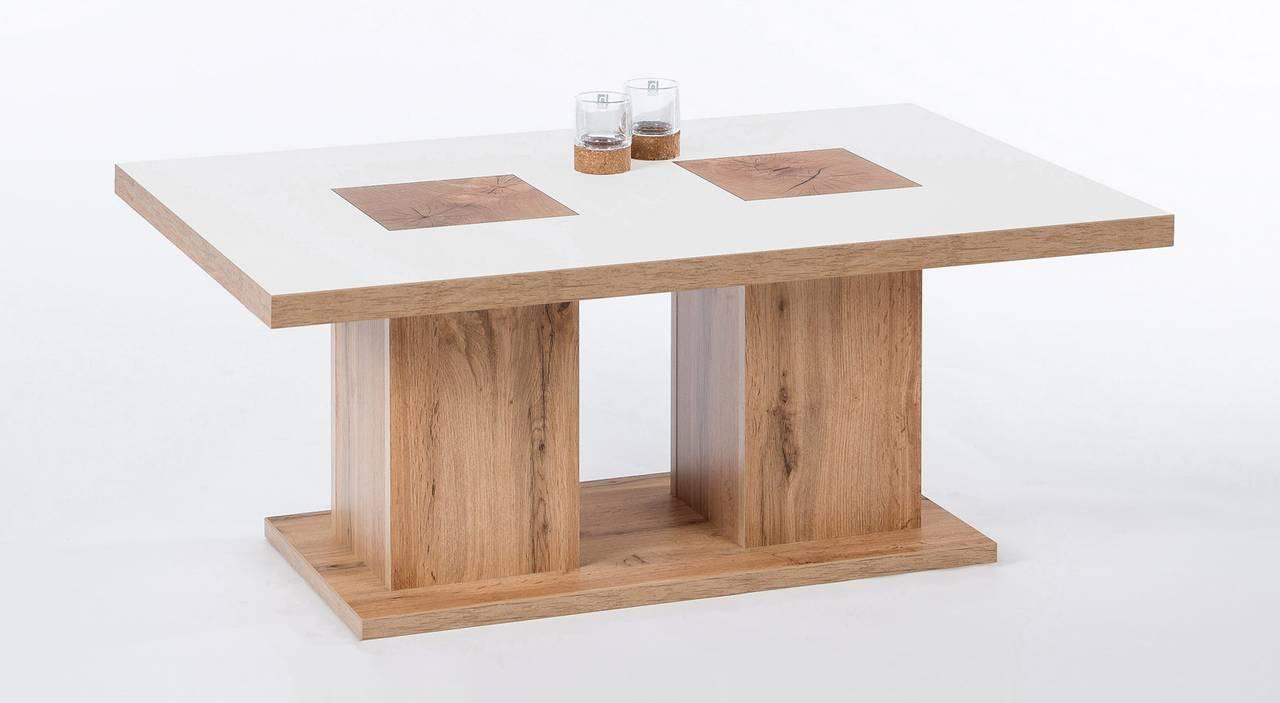 couchtisch innsbruck mit hirnholzoptik 110 x 70 cm ebay. Black Bedroom Furniture Sets. Home Design Ideas