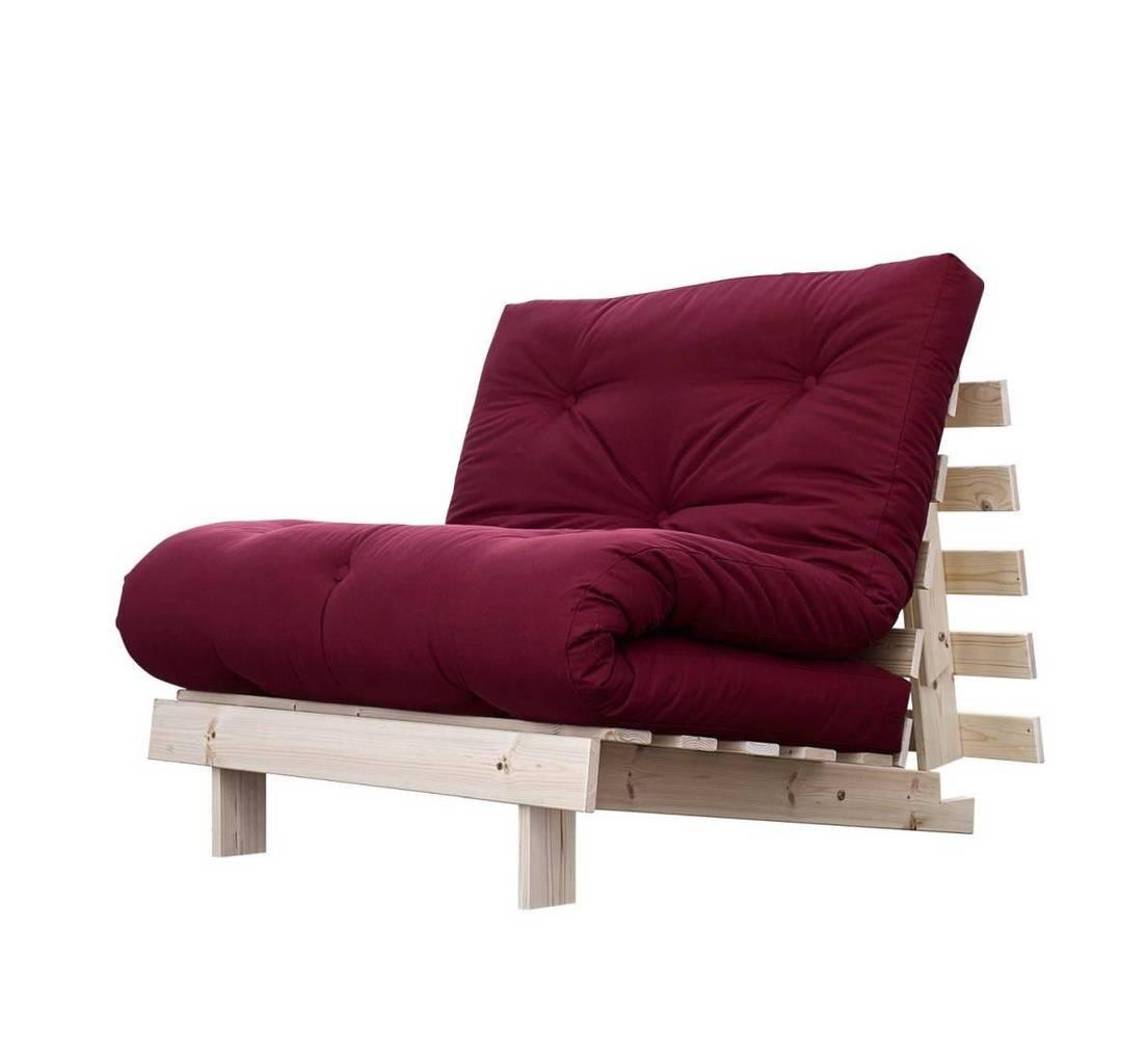 Schlafsofa roots 90 cm sofa kiefer massiv unbehandelt von for Schlafsofa 90 x 190