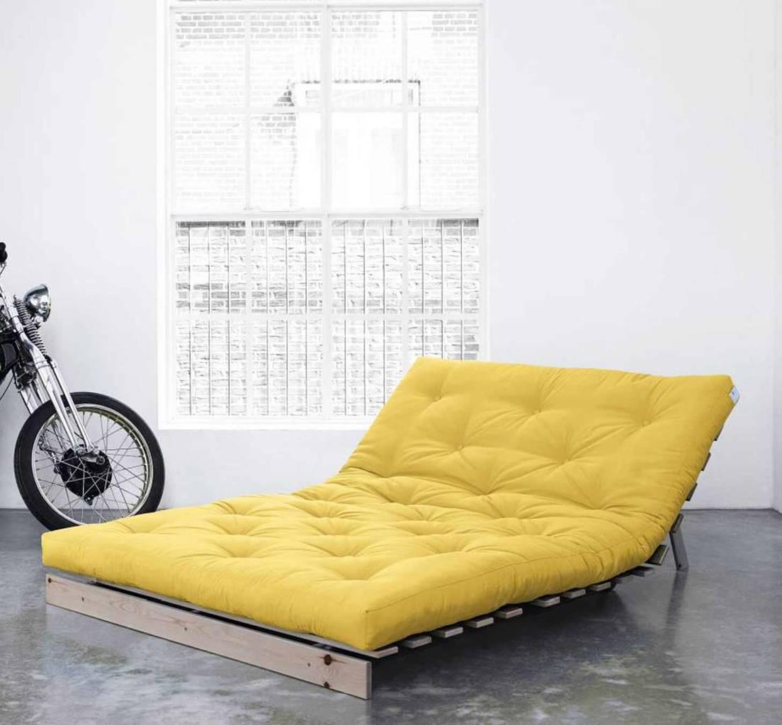 schlafsofa roots 140 cm sofa kiefer massiv unbehandelt. Black Bedroom Furniture Sets. Home Design Ideas