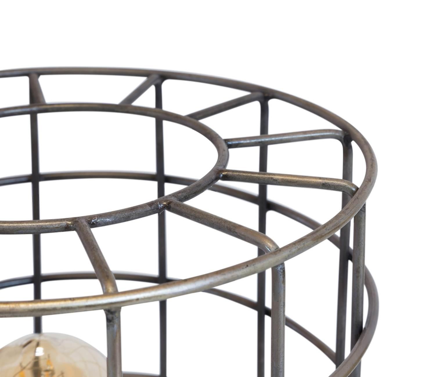 stehleuchte derk tripod bodenleuchte im silber antik look. Black Bedroom Furniture Sets. Home Design Ideas