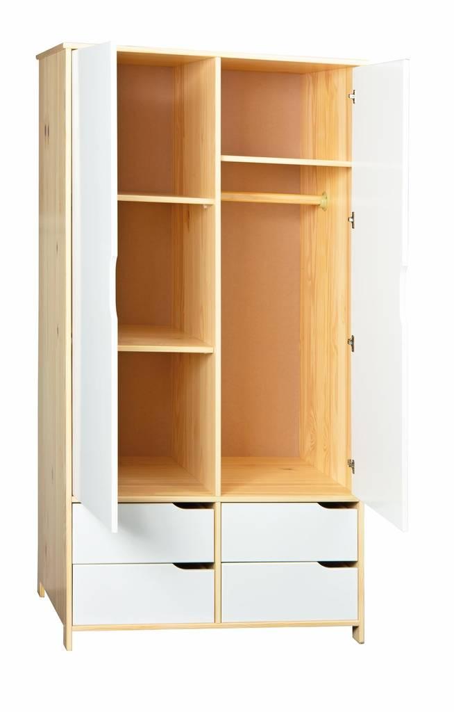 kleiderschrank kiefer preisvergleich die besten angebote online kaufen. Black Bedroom Furniture Sets. Home Design Ideas