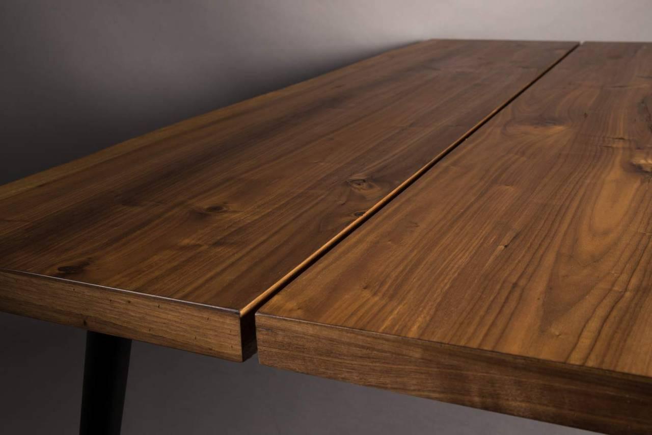 esstisch alagon walnuss mit baumkante 160 x 90 cm von. Black Bedroom Furniture Sets. Home Design Ideas