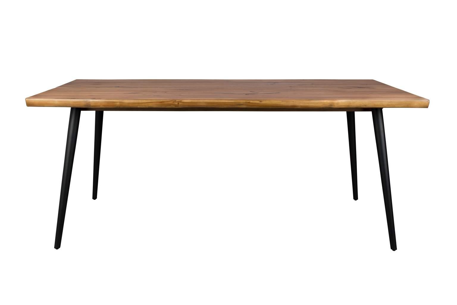 esstisch alagon walnuss mit baumkante 180 x 90 cm von. Black Bedroom Furniture Sets. Home Design Ideas