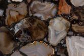 Beistelltisch AGATE Platte mit Achat Steinen von DUTCH BONE Ansicht-2