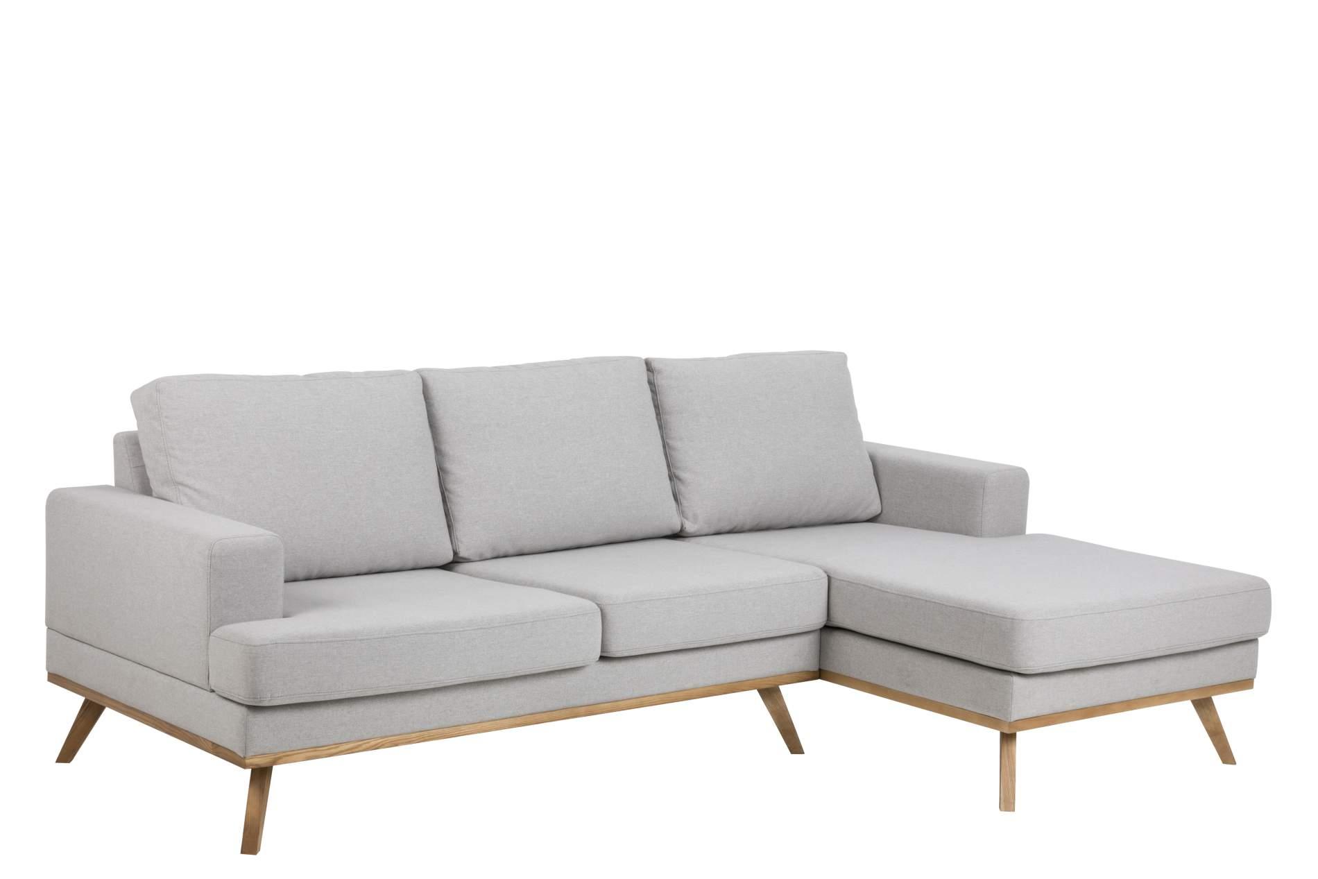sofa norwich hellgrau mit chaiselongue rechts. Black Bedroom Furniture Sets. Home Design Ideas
