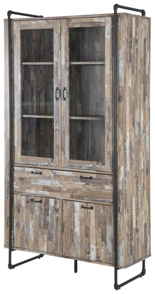 Vitrine FACTORY - Driftwood Nachbildung