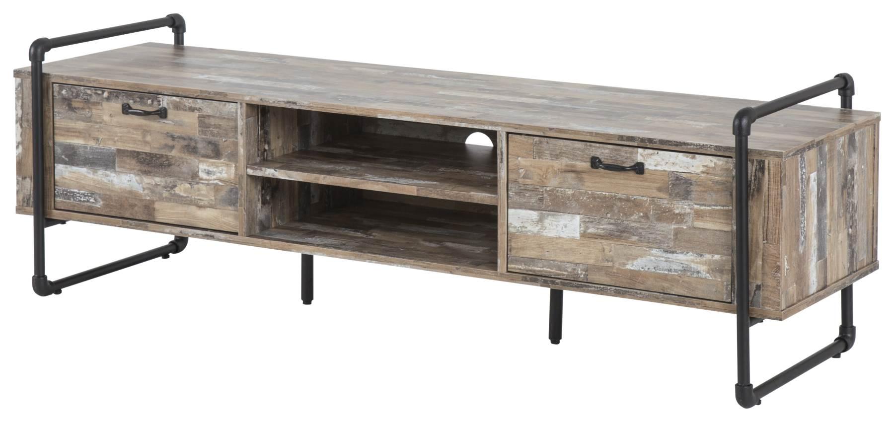 tv lowboard factory 150 cm driftwood nachbildung. Black Bedroom Furniture Sets. Home Design Ideas