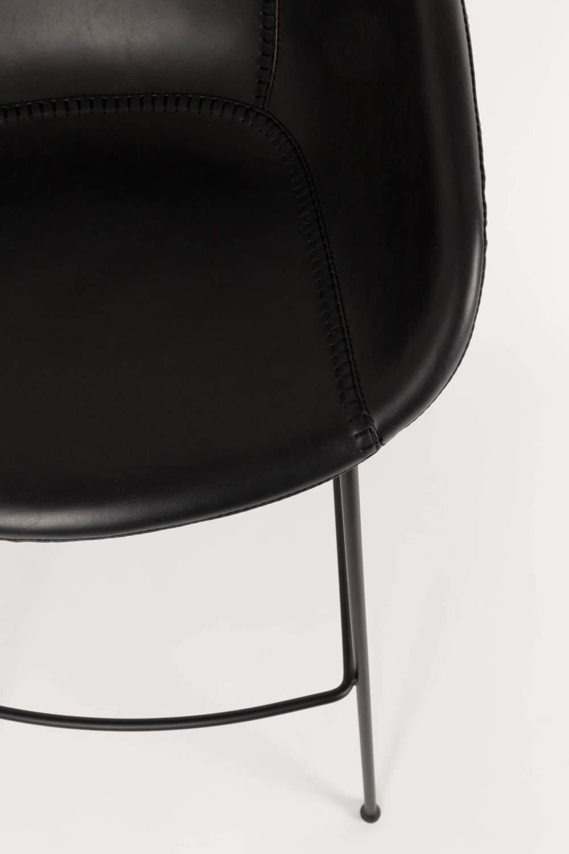 tresenhocker feston black von zuiver. Black Bedroom Furniture Sets. Home Design Ideas