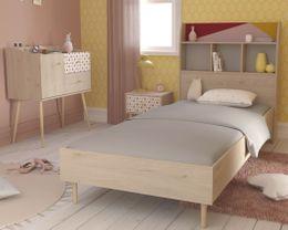 Kinderzimmer Jugendzimmer ANNA 8 Eiche Dekor Komplettset 3-teilig