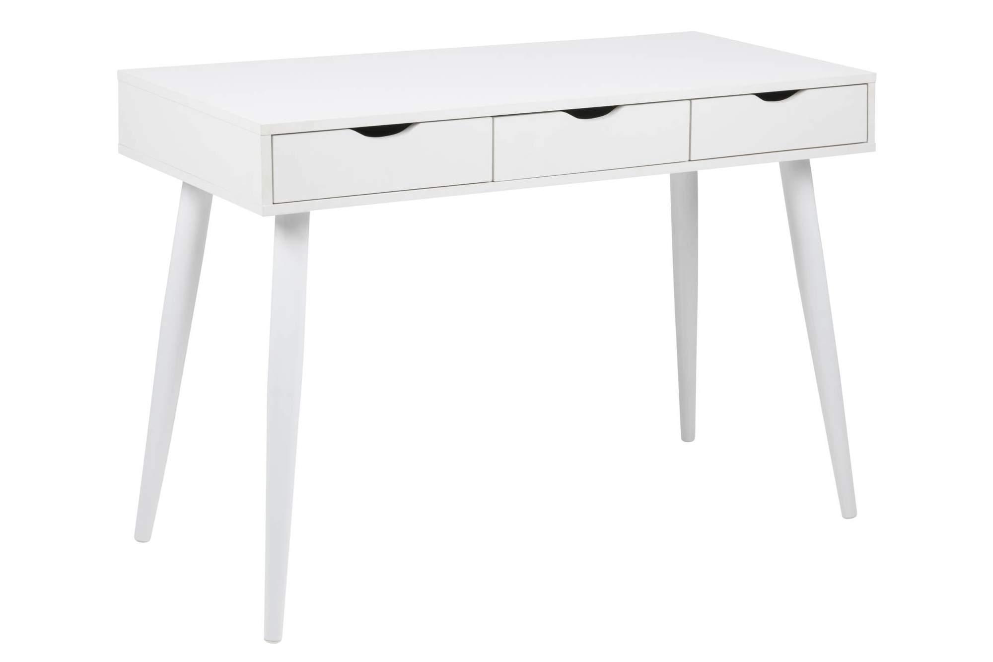 Amüsant Schreibtisch Weiß Mit Schubladen Das Beste Von
