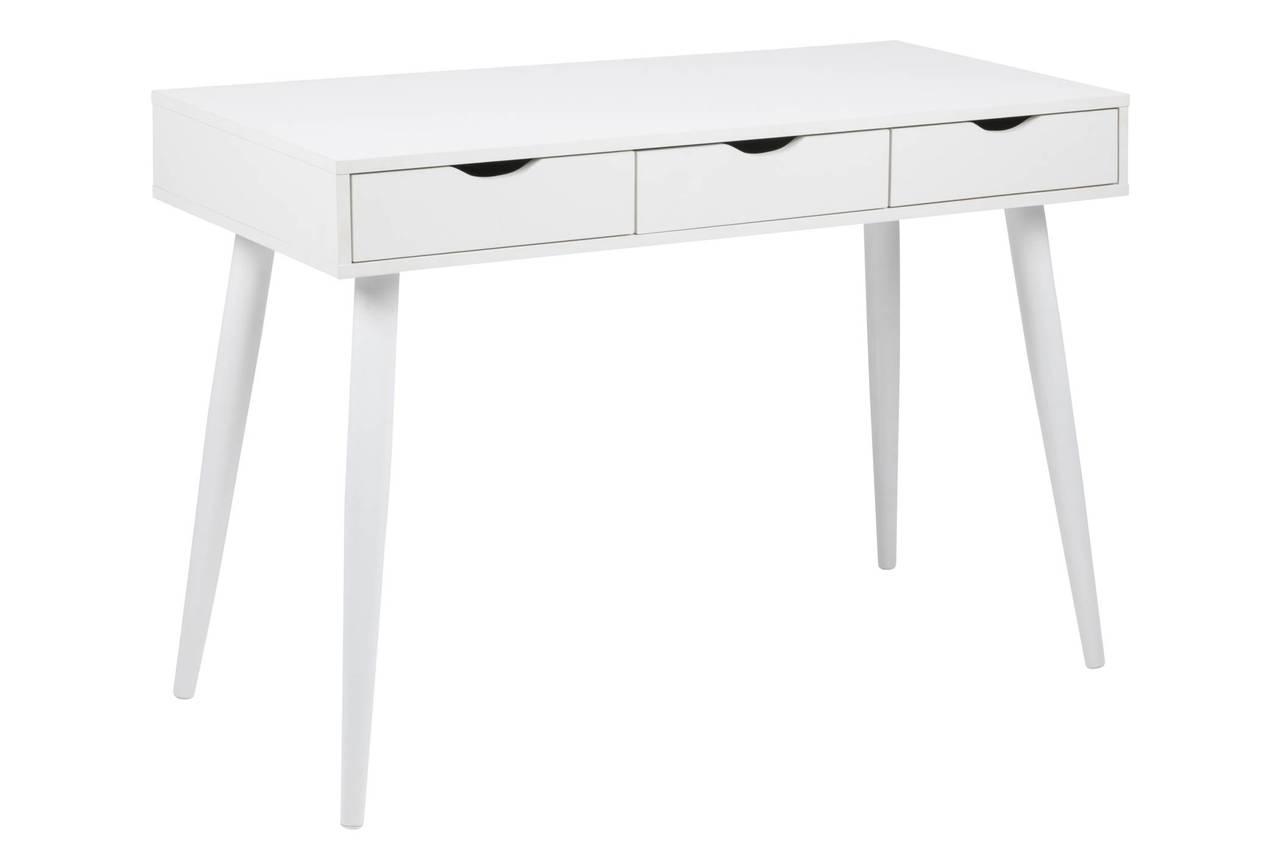 Schreibtisch Neptun weiß mit 3 Schubladen