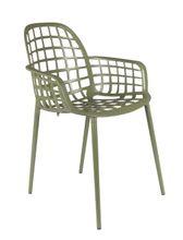 Stuhl Gartenstuhl ALBERT Aluminium Grün von ZUIVER