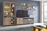 Lowboard NOTE 1-trg. 2 Schubladen Dekor: Picea Kiefer und Betonoptik Ansicht-3