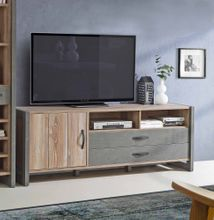 lowboard corona tv board mit ger tefach dekor eiche tabak. Black Bedroom Furniture Sets. Home Design Ideas