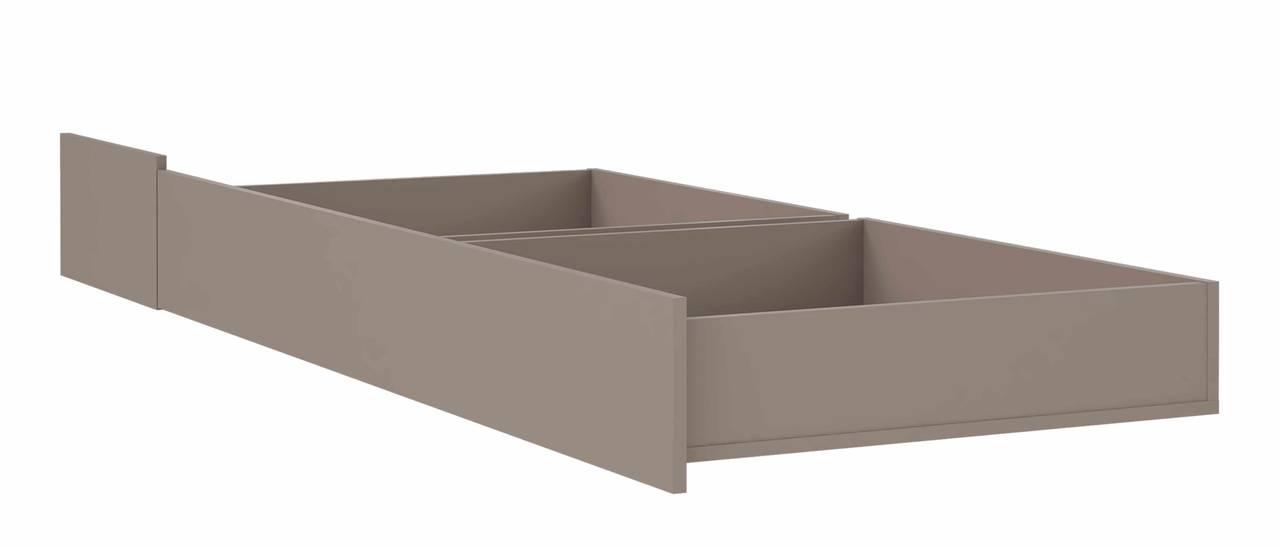 Schublade für Jugendbett MALAKKA 90 x 200 cm Optik: Basalt