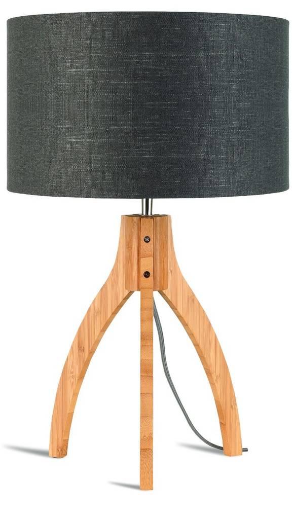 Tischleuchte ANNAPURNA Dunkelgrau 54 cm von GOOD&MOJO