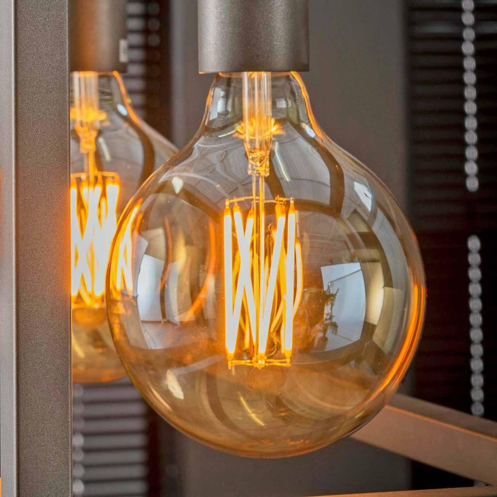 LED Filament Globus 12,5 cm GOLD-Line Amber Gold Glas 6 Watt Dimmbar