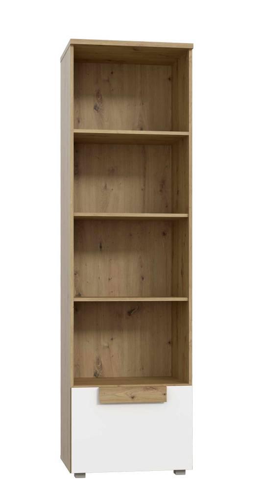 Bücherregal ARKINA Regal, 1 Tür in Artisan Eiche von Forte
